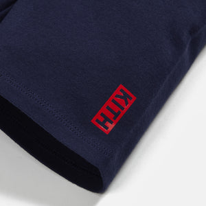 Kith Kids Biker Short - Navy Image 3