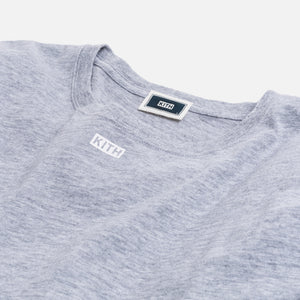 Kith JFK L/S Tee - Heather Grey