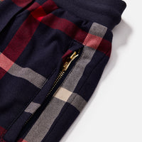 Kith for Bergdorf Goodman Roger Track Pant - Navy / Red Plaid Thumbnail 5