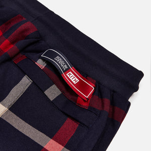 Kith for Bergdorf Goodman Roger Track Pant - Navy / Red Plaid Image 7