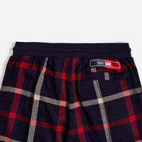 Kith for Bergdorf Goodman Roger Track Pant - Navy / Red Plaid Thumbnail 6