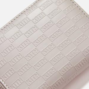 Kith Zip Around Wallet - Light Grey
