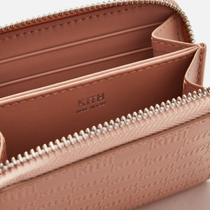 Kith Zip Around Wallet - Nude
