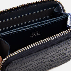 Kith Zip Around Wallet - Navy