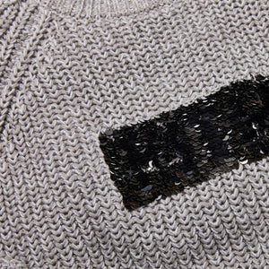 Kith Kids Sawyer Sequin Box Logo Sweater - Cinder