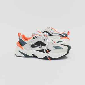 Nike M2K Tekno - Light Bone / Metallic Silver / Turf Orange