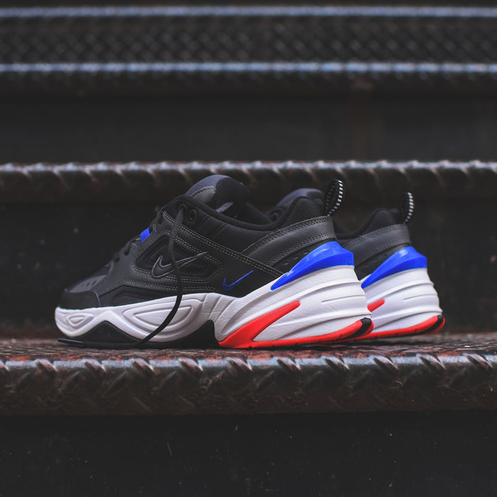 Nike M2K Tekno - Dark Grey / Black / Baroque Brown / Racer Blue