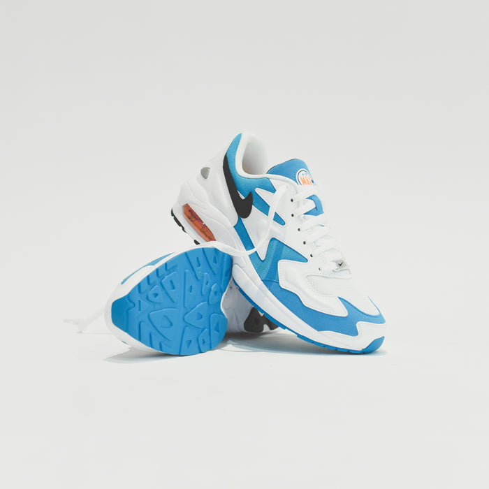 Nike Air Max Light 2 - White / Black / Blue Lagoon / Laser Orange