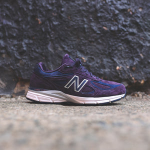best authentic 03345 329b5 New Balance Made in US 990v4 - Elderberry / Pigment – Kith