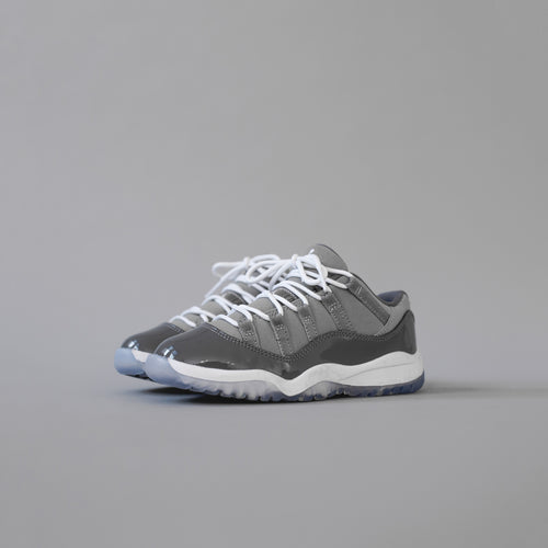 Nike Pre-School Air Jordan 11 Retro Low - Medium Grey / White Gunsmoke