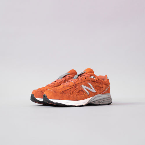 New Balance Kids KJ990OOP - Rust / Grey