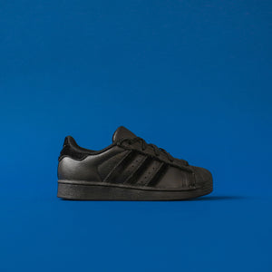 adidas Originals Crib Superstar - Black / White
