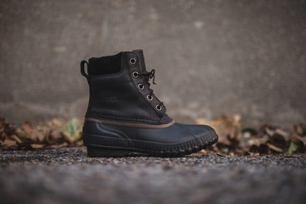 Sorel Cheyanne Boot - Black / Dark Brown