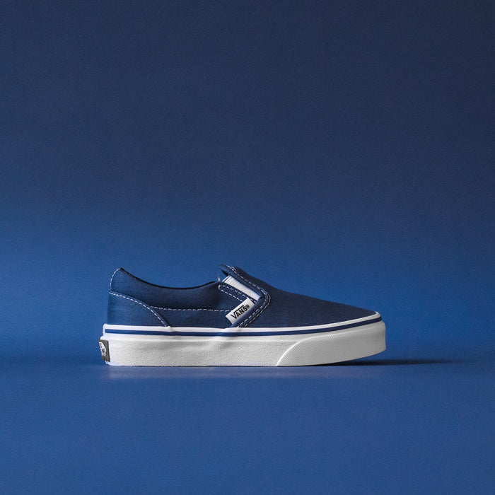 Vans Kids Slip-On - Navy / White