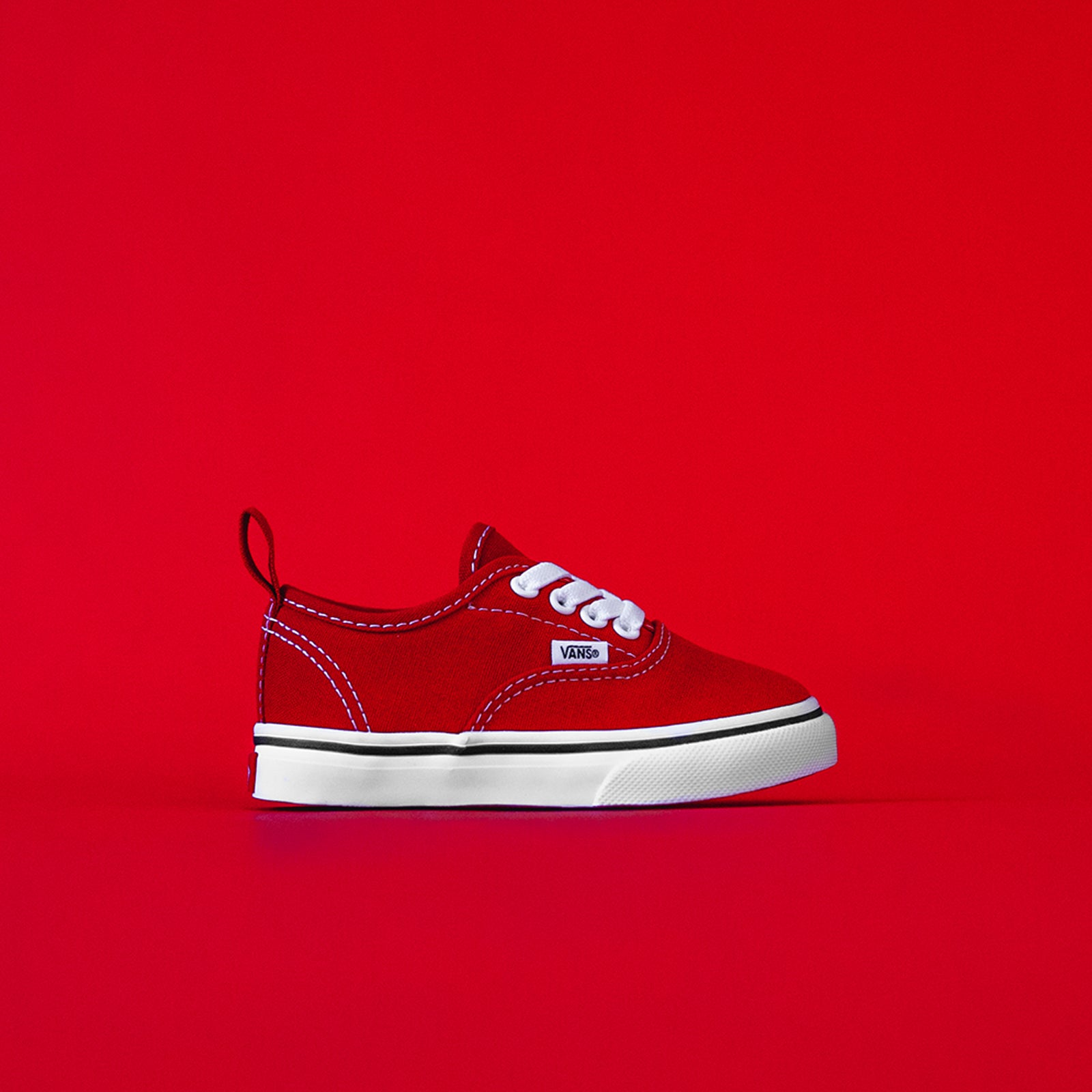 Vans Toddler Authentic - Red / White