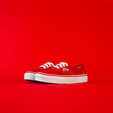 Vans Kids Authentic - Red / White