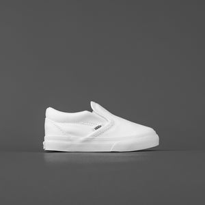 Vans Toddler Classic Slip-On - True White