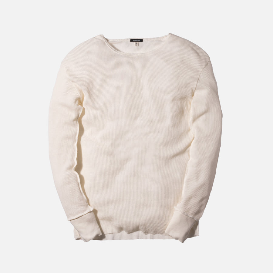 R13 Inside Out L/S Tee - White