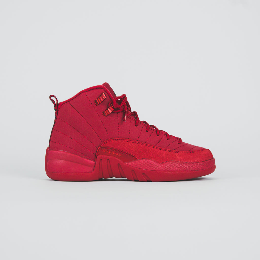 new concept 2d1fb 760ec Nike GS Air Jordan 12 Retro - Gym Red   Black – Kith