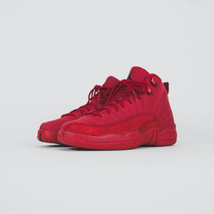 Nike GS Air Jordan 12 Retro - Gym Red / Black