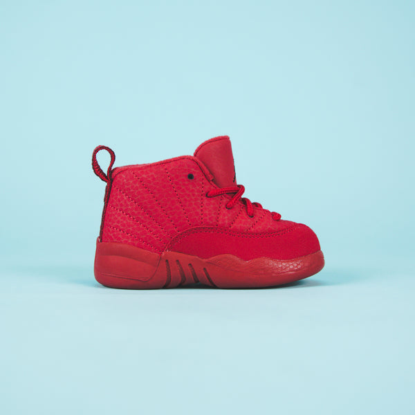 official photos e4485 70dcc Nike TD Air Jordan 12 Retro - Gym Red / Black - 3C