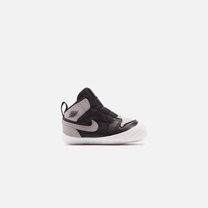 Nike Crib Air Jordan 1 - Black / Neck Gray / White