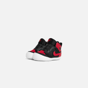 Nike Air Jordan 1 Crib Bootie - Black / Varsity Red / White