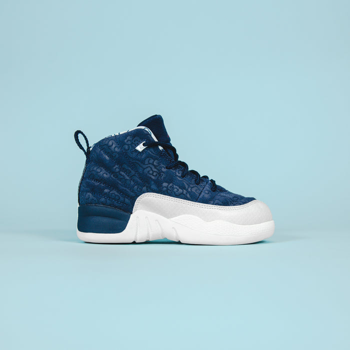 Nike PS Air Jordan 12 - Navy / White
