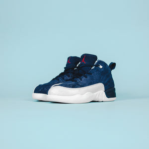 Nike TD Air Jordan 12 - Navy / Uni Red