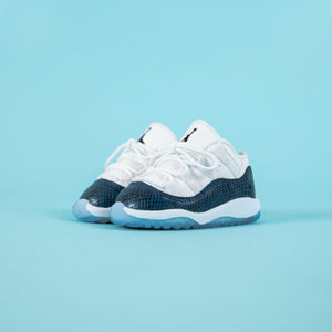b796edc7496979 Nike Toddler Air Jordan 11 Retro Low LE - White   Black   Navy