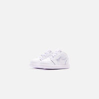 Nike Toddler Air Jordan 1 Low - White Thumbnail 1