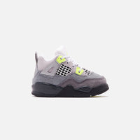 Nike Toddler Air Jordan 4 Retro LE - Cool Grey / Volt / Wolf Grey / Anthracite Thumbnail 1