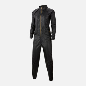 Nike Air WMNS Jordan Ctr Faux Leather Flightsuit - Black