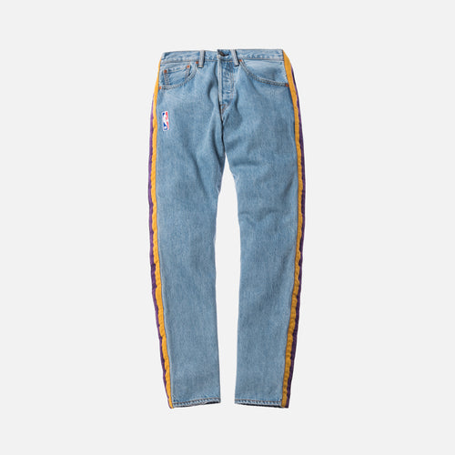 Just Don Lakers 501 Tearaway Pants - Light Blue