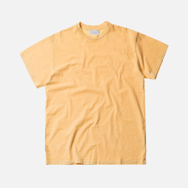 John Elliott Big Tee - Washed Yellow