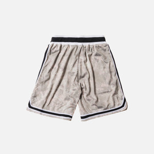 John Elliott Basketball Shorts - Tie-Dye / Tan / Olive