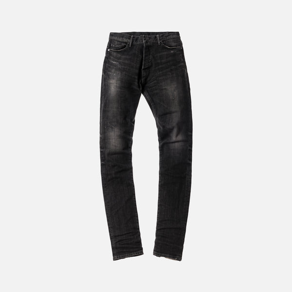 John Elliott The Cast 2 Denim - Washed Black