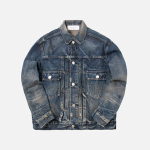John Elliott Painted Thumper Jacket Type II - Blue