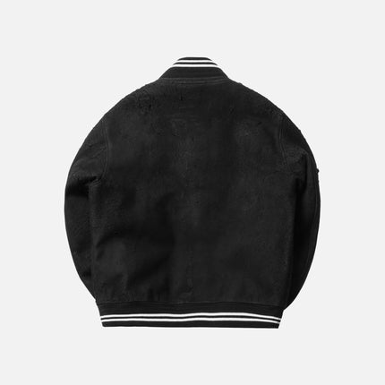 John Elliott x Blackmeans Varsity Jacket - Black