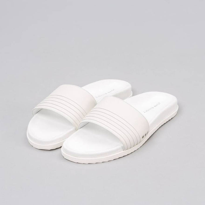 John Elliott Leather Sandal - White