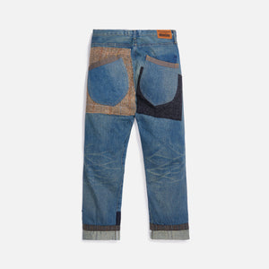 Junya Man Cotton Selvedge Denim Garment Treated - Blue