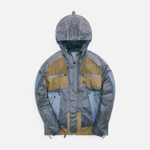 Junya Man Mystery Ranch In And Out Jacket - Khaki / Grey