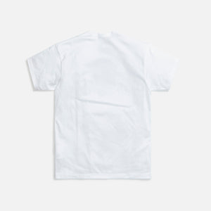 Junya Man Cotton Jersey Wondriska Print Tee - White / Black