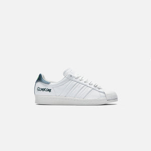 adidas Consortium x Jonah Hill Superstar - White / Green Image 1