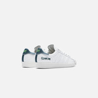 adidas Consortium x Jonah Hill Superstar - White / Green Thumbnail 3