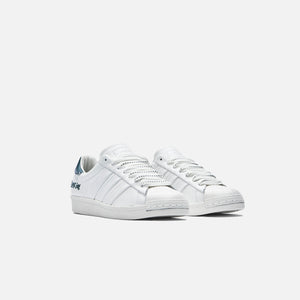 adidas Consortium x Jonah Hill Superstar - White / Green Image 2
