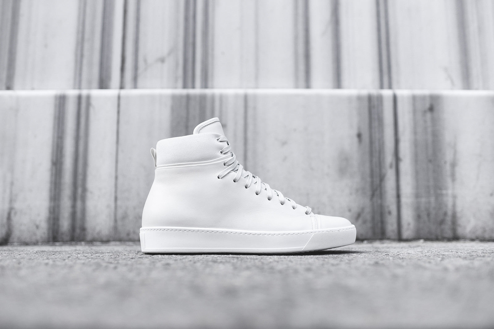 John Elliott High Top Sneaker - White