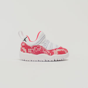 Nike TD Air Jordan 11 Retro Little Flex - White / Watermelon