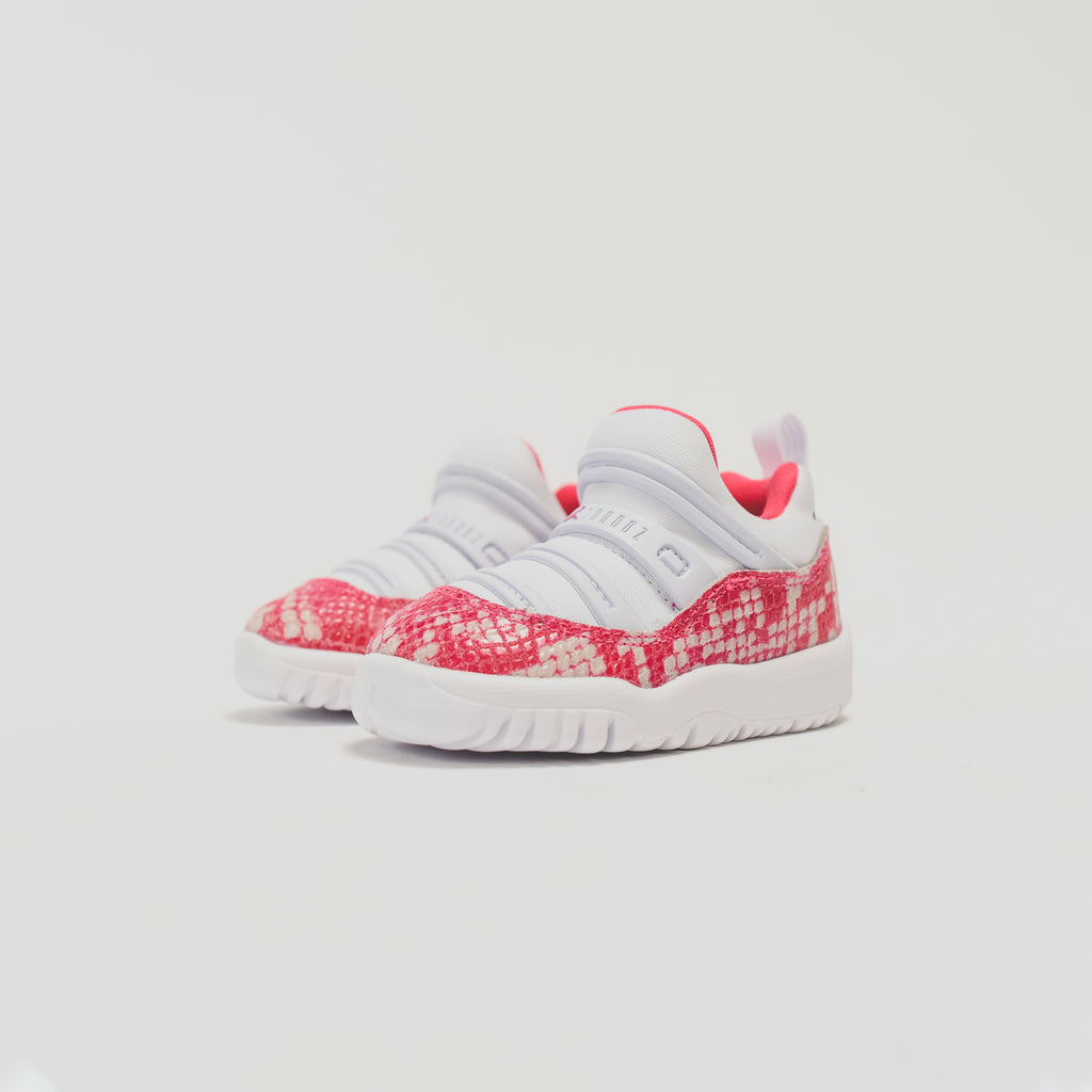 56fab123b59 Nike TD Air Jordan 11 Retro Little Flex - White / Watermelon – Kith