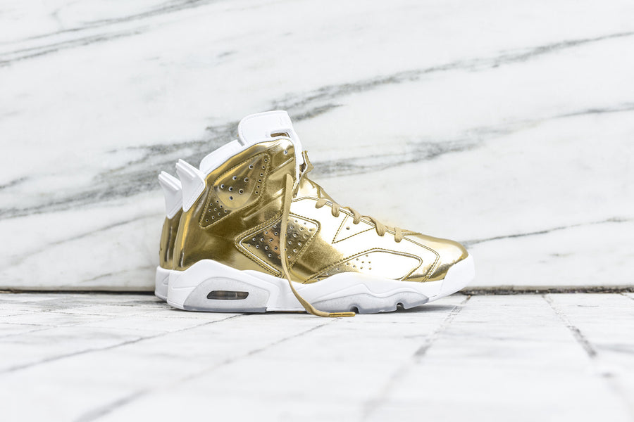 Nike Air Jordan Retro 6 Pinnacle - Gold